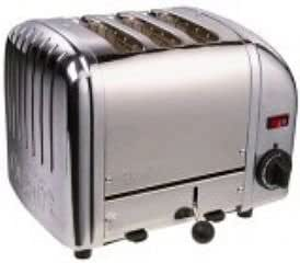 Dualit 3 Slice Toaster Stainless Steel 30084