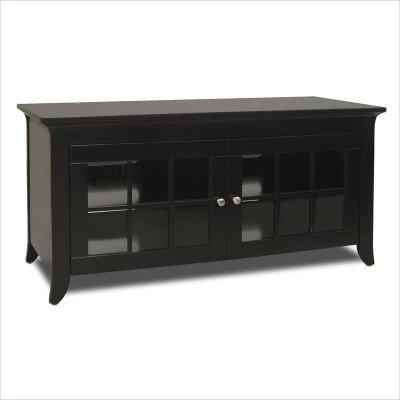 Cheap Tech Craft Veneto 48 Inch Black TV Stand (CRE48B) (CRE48B)