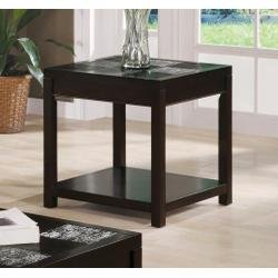 Cheap Lampart Collection End Table by Coaster Furniture (B004097712)