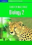 Teacher Materials Biology 2 CD-ROM (Cambridge Advanced Sciences)