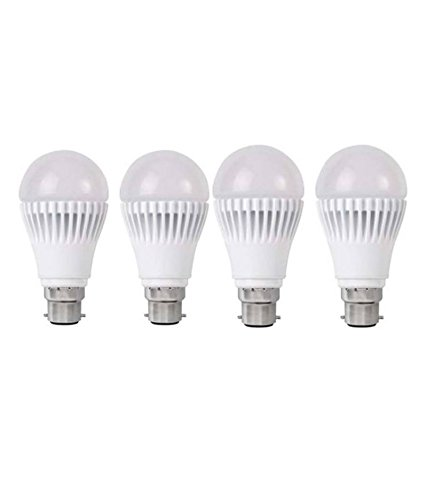 15W Bright White B22 LED Bulb (Set of 4)