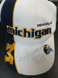 Signed Wolverines, University of Michigan (Dan Dierdorf Ron Kramer) University of... by Powers+Collectibles