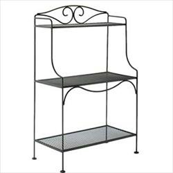 Wrought Iron Bakers Rack For Patio, Deck or Indoors