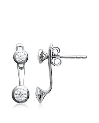 BALI Jewelry Pendientes Ear Cuff plata de ley 925 milésimas