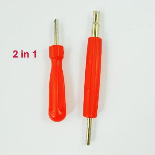 sonline-2-in-1-set-attrezzo-di-riparazione-gomma-rimozione-valvola-con-testa-singola-e-doppia