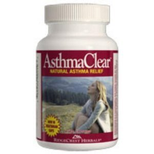 Ridgecrest Asthma Clear Homeo and Herbal Asthma Relief, 60 Count