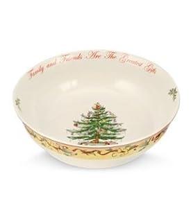 "Spode Christmas Tree 2012 Annual 10"" Serving Bowl"