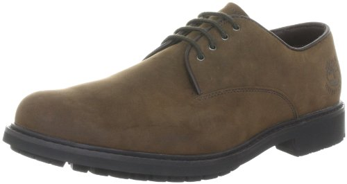 Timberland Men's Earthkeepers Plain Toe Oxford Dark Brown Lace Up 5550R 8 UK