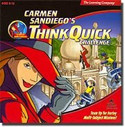 Carmen Sandiego Think Quick Challenge