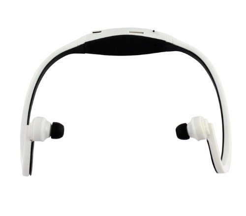 Sannysis2008 Sport White/Black Wireless Headphones Music Mp3 Player Tf Card Fm Radio Headset