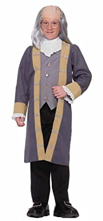 Forum Novelties Child's Ben Franklin Costume, Small