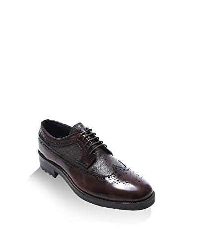 BRITISH PASSPORT Zapatos derby Wing Cap Pardo