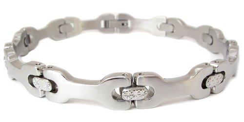 Mens Stainless Steel Wrench Bracelet