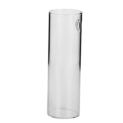vase cylindre mural suspendu en verre transparent pour. Black Bedroom Furniture Sets. Home Design Ideas