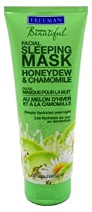 Freeman Facial Sleeping Mask Honeydew & Chamomile 6oz