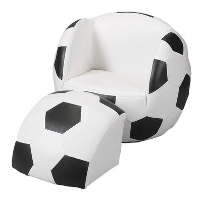 Gift Mark Chair and Ottoman, Soccer