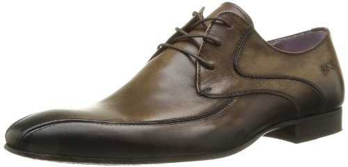 BKR Men's Kom Lace-Up Flats Brown Marron (Desla Smoky) 9 (43 EU)