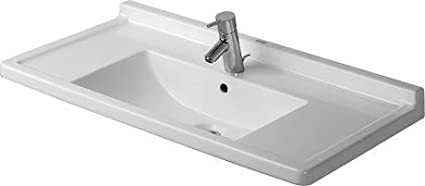 Duravit 0304800030 Starck 3 Furniture Bathroom Sink