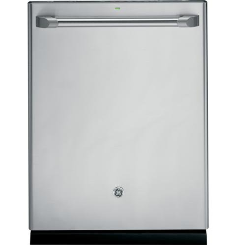 Cafe Top Control Dishwasher In Stainless Steel With Stainless Steel Tub And Steam Prewash-GE-CDT725SSFSS