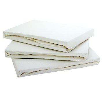 Cream Jersey Fitted Sheet Super King Size