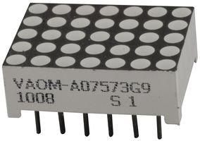Vcc (Visual Communications Company) Vaom-A07573G9-Bw/32 Led Dot Matrix 17.8Mmx12.7Mm 5X7Yel Grn (1