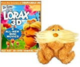 Dr. Seuss The Lorax 3D with Lorax Finger Puppet [Bluray/DVD]