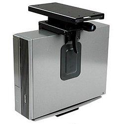 Mini CPU Holder, Under Desk Mount, Slide/rotating