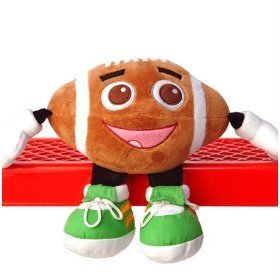 All Star Buddies Football Stuffed Plush Toy Sports Character Doll - Blitz
