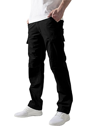 Urban Classics TB630 Camouflage Cargo Pants Pantalone uomo NERO 38