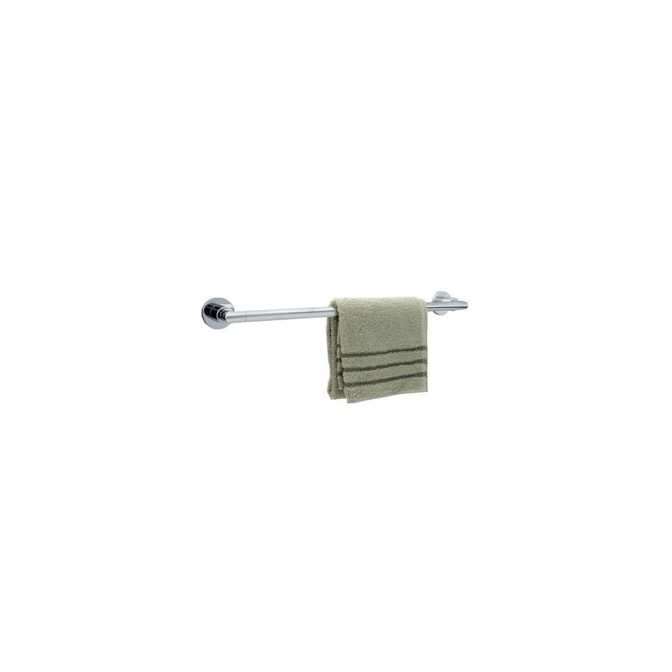 Dynasty Hardware DYN 4003 CM Manhattan 18 Inch Single Towel Bar, Polished Chrome