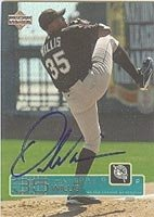 Dontrelle Willis Florida Marlins 2003 Upper Deck Autographed Hand Signed Trading Card... by Hall+of+Fame+Memorabilia