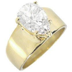 TQWJ5949ZCB T13 5.4 Carat Pear Shaped Diamond Engagement Ring (5)
