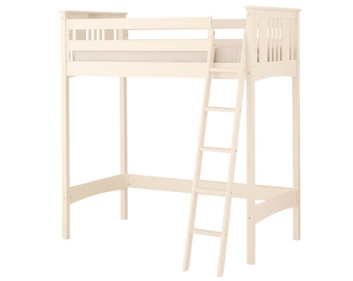 White Wooden Bunk Beds 4225 front