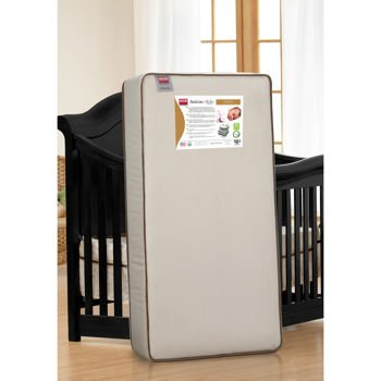 Simmons Kids® Sleepy Sky 2-In-1 Crib Mattress front-103257