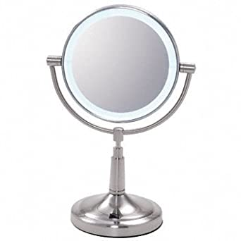 crl vanity mirror with led surround light zledv45 industrial am. Black Bedroom Furniture Sets. Home Design Ideas