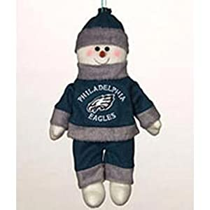 "Philadelphia Eagles 10"" Snowflake Friends"