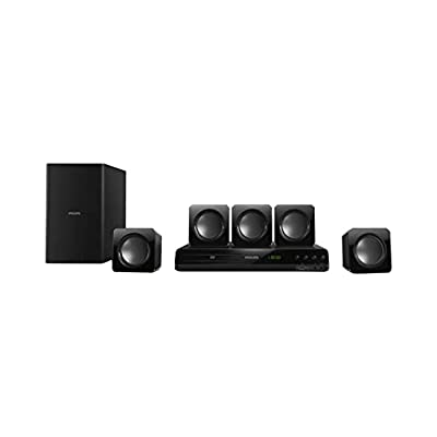 Philips 5.1 HTD3509/94 DVD Home Theater Speaker (Black)
