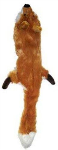 Ethical-Plush-Skinneeez-Fox-24-Inch-Stuffingless-Dog-Toy