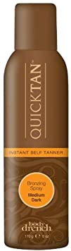 Body Drench Quick Tan Instant Self Tanner Bronzing Spray