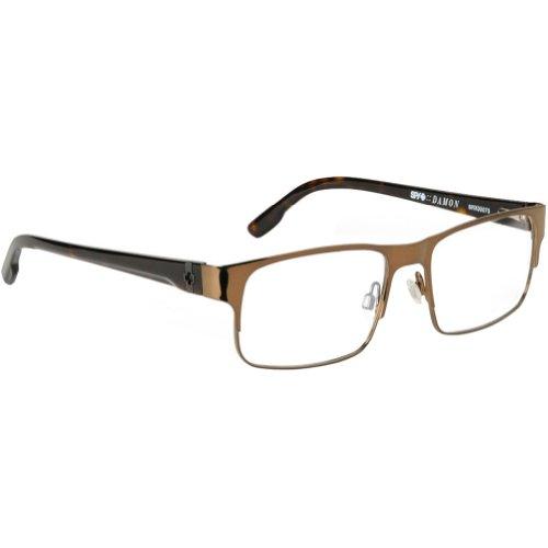 Spy Optic Damon Rx Eyeglasses - Spy Optic Adult Rx Optical Frame - Mahogany / Size 53-16-140 front-916057