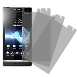 MPERO Matte Anti-Glare Screen Protector for Sony Xperia S LT26i - 3 Pack