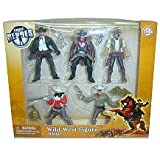 True Heroes Wild West Action Figure Playset 5-Pack
