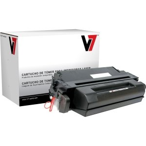 V7 Black Toner Cartridge for HP LaserJet 5si,