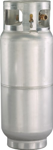 Worthington 336053 43-Pound Aluminum Forklift Propane Cylinder With Gauge And Fill Valve