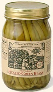 Cherith Valley Gardens Hot N Spicy Pickled Green Beans from Cherith Valley Gardens