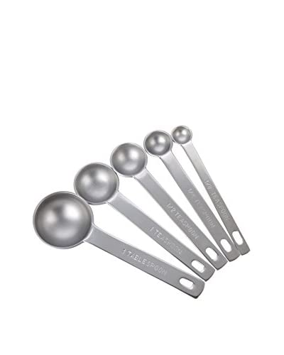 MIU France Stainless Steel Set of 5 Measuring Spoons