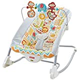 Fisher-Price Deluxe Infant-To-Toddler Rocker, Animal Kingdom