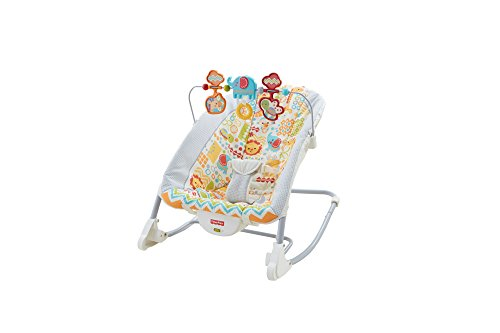 Fisher-Price Deluxe Infant-To-Toddler Rocker, Animal Kingdom (Fisher Infant To Toddler Rocker compare prices)