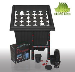 Clone King 25 Site Aeroponic Cloning Machine Expect 100% Success Rates (Clone System Inserts compare prices)