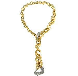 Orlando Orlandini Ltd Ed#2/100 Lariat Necklace .32cttw